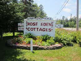 Rose Eden Sign
